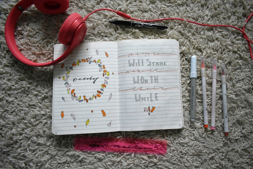 Bullet Journal: October